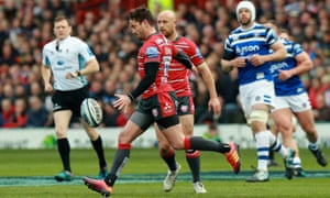 Danny Cipriani was one again Gloucester's master of invention in the victory over Bath.