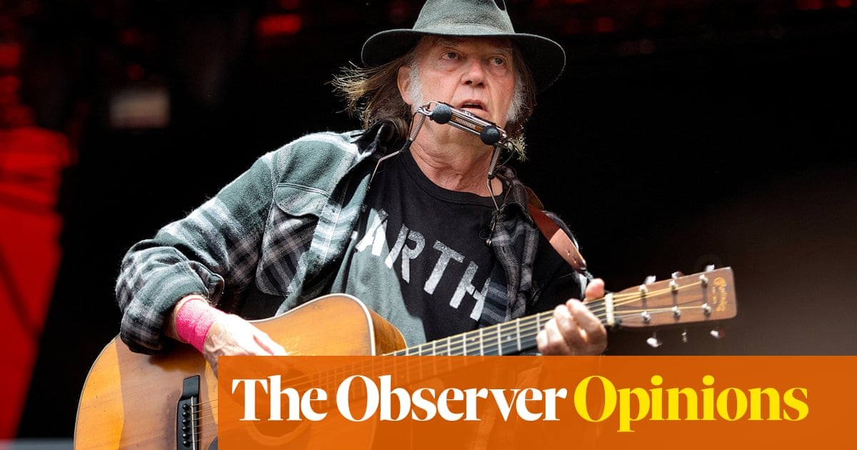 A gold rush for Neil Young will leave little left for younger artists   Rebecca Nicholson