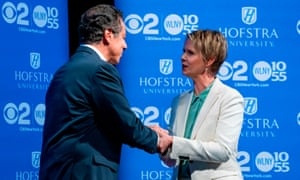 New York governor Andrew Cuomo will face challenger Cynthia Nixon in New York's primary elections on 13 September.