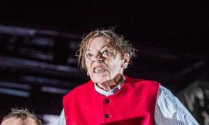 Incipient madness … Glenda Jackson in King Lear.