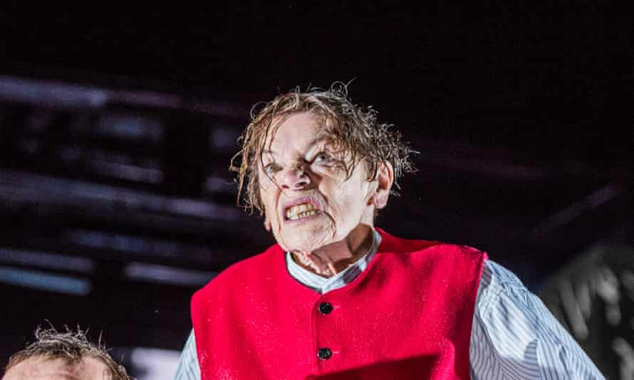 Incipient madness … Glenda Jackson in King Lear.