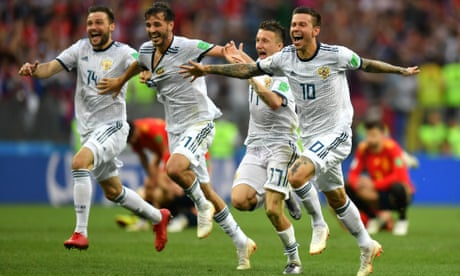Russia eliminate Spain from World Cup in last-16 penalty shootout