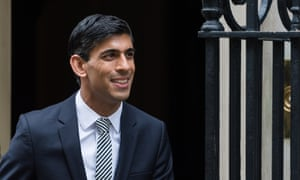 New Chancellor of the Exchequer Rishi Sunak.