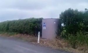 The lone public convenience in South Taranaki.