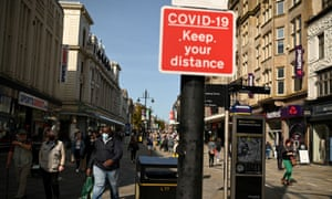 Newcastle city centre last month