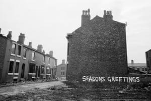 Before corporate branding … Moss Side, 1970.