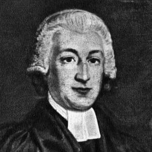 Portrait of James Woodforde, an English clergyman.