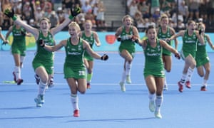 The all-Ireland hockey team advances to the World Cup semifinals – casting a feelgood glow over the whole island.