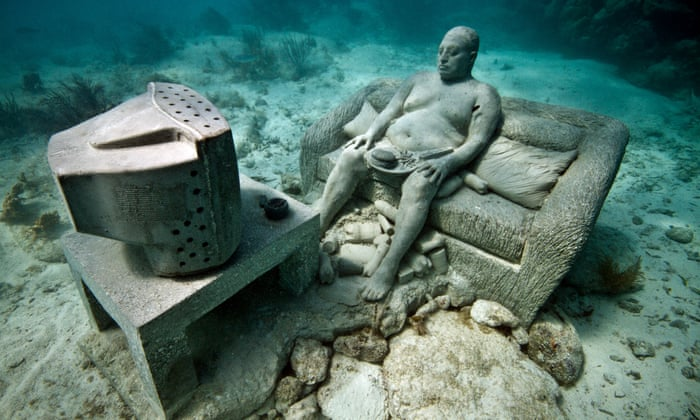 Drowned world: welcome to Europe's first undersea sculpture