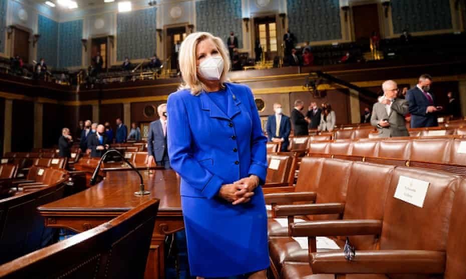 Liz Cheney, the party's number three in the House of Representatives, is set to be ousted this week after urging colleagues to renounce the 'cult of personality'.