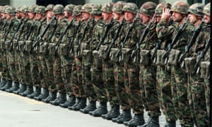 More than 40 staff and recruits of Swiss army academy have fallen violently ill.