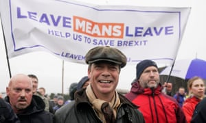 Nigel Farage launches the March to Brexit