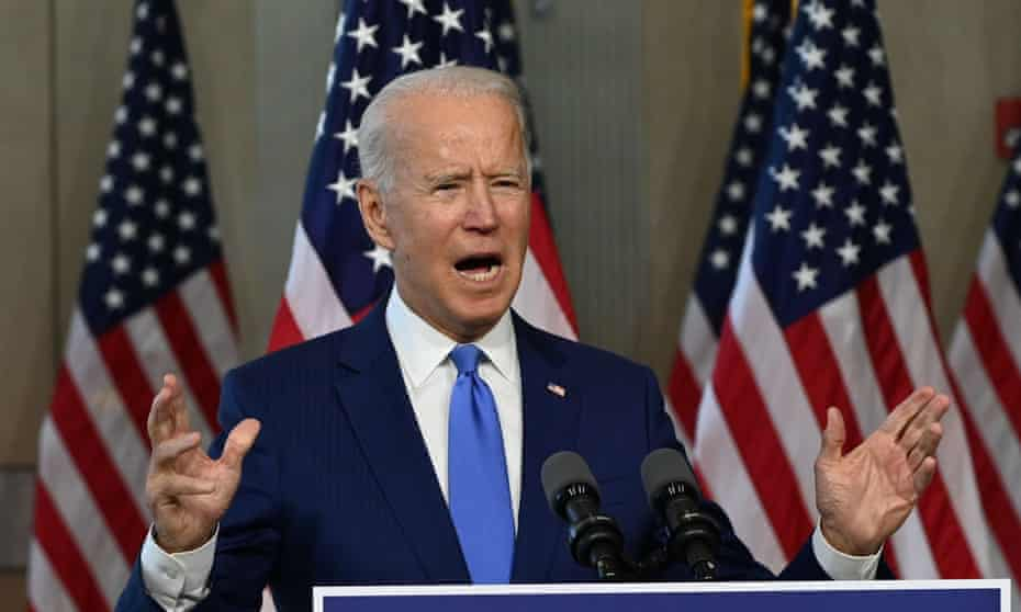 'Biden's electoral strategy - rally the Democratic base, while trying to peel off enough Republicans to swing states like Pennsylvania and Florida – looks more and more risky.'