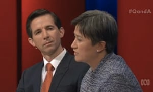 Simon Birmingham and Penny Wong