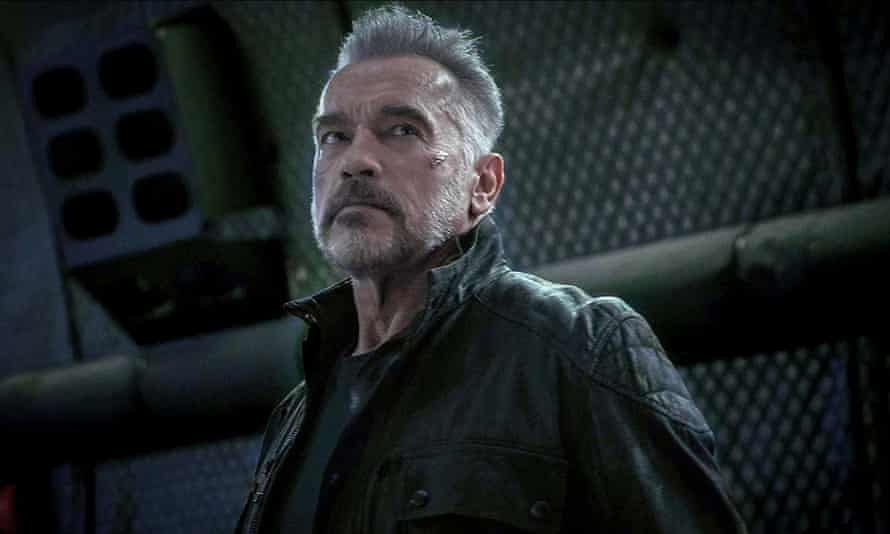 Arnold Schwarzenegger in Terminator: Dark Fate.