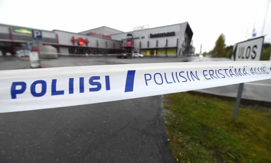 Finnish police tape