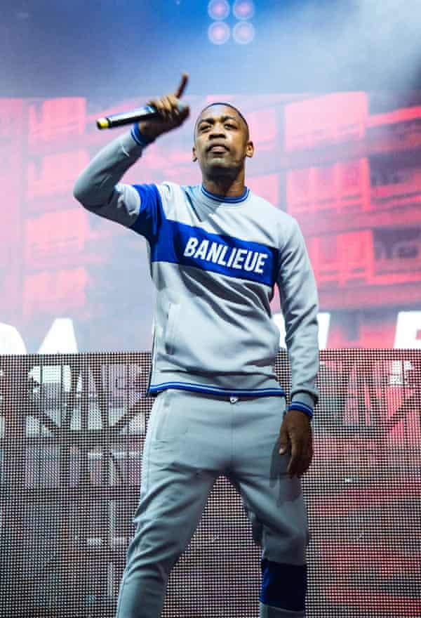 Wiley on stage at South West Four festival in London in August 2019