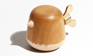 Anden is a small business making everyday accessories using traditional craftsmanship and sustainable materials. Chirp musical toy in maple and finished with eco friendly oils, £45, madebyanden.co.uk