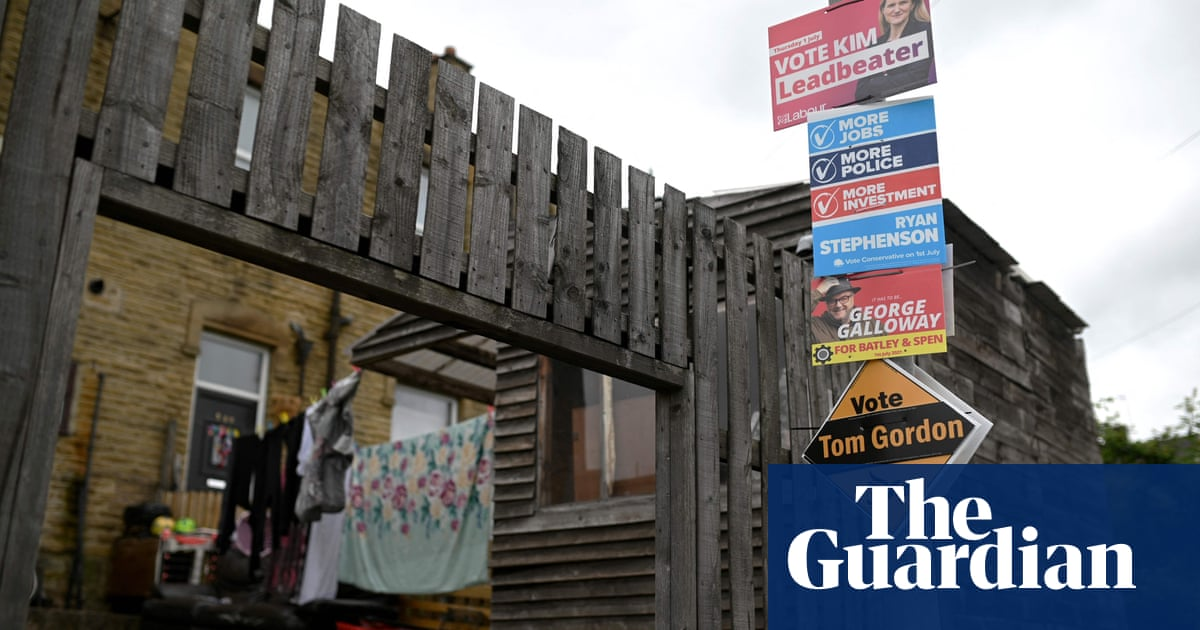 Batley and Spen byelection: voters head to polls after bitter campaign battle