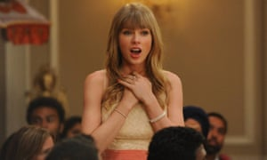 Bad blood ... Taylor Swift in New Girl.