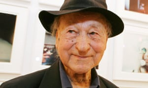 Jonas Mekas, seen in 2009, sought to create a cinema that was 'less perfect and more free'.