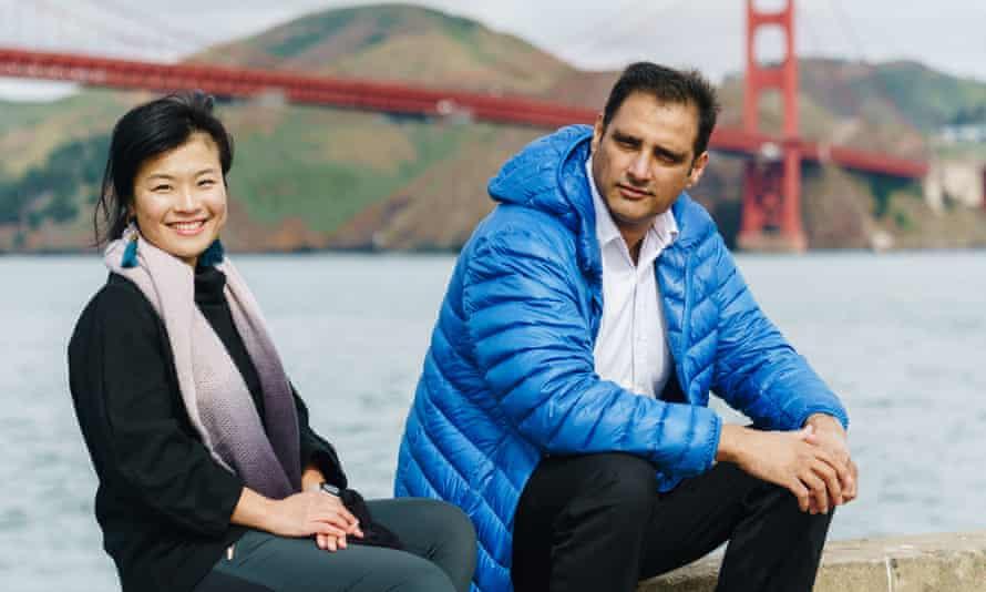 TurtleTree founders Fengru Lin and Max Rye.