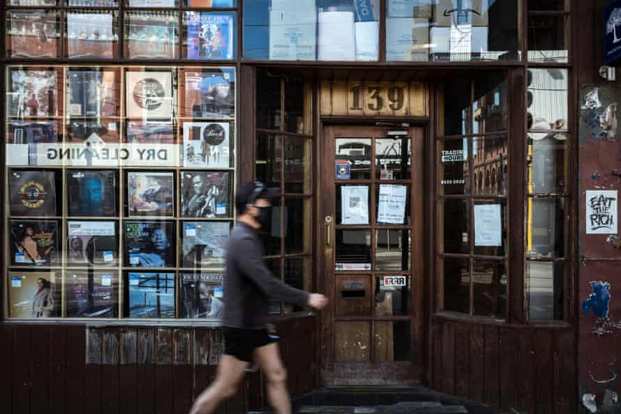 Picture Search DVD and Record store, the last of its kind still operating in Melbourne