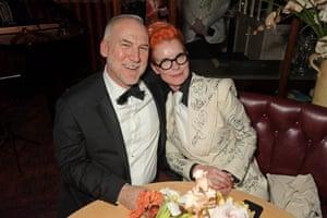 Bob Shaw and Sandy Powell