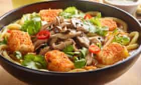 A bowl of Vegan Ramen