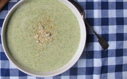 Felicity Cloake's perfect broccoli and stilton soup