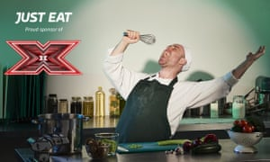 Just Eat's indents during The X Factor will feature chefs from the restaurants for which it delivers food.