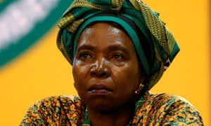 Nkosazana Dlamini-Zuma, former minister and chairwoman of the African Union Commission