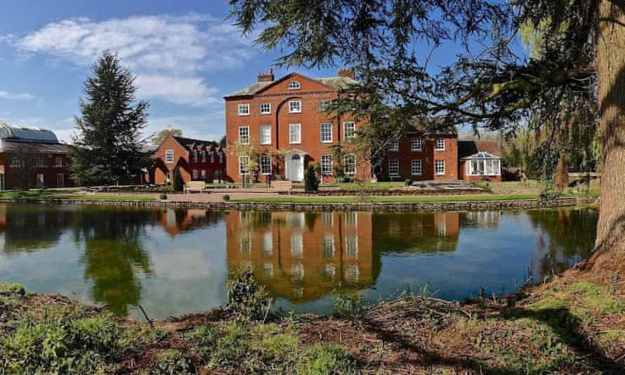 Adhisthana (formerly Coddington Court) in Herefordshire is the headquarters of the Triratna Community.