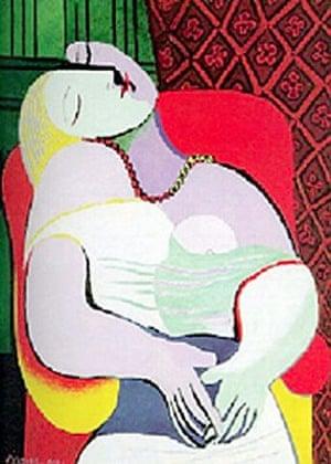 Picasso's Le Réve.