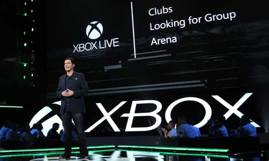 Mike Ybarra at Xbox E3 2016
