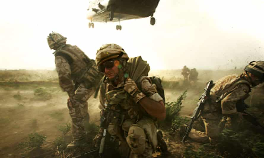 Image of soldiers in Afghanistan from Our War