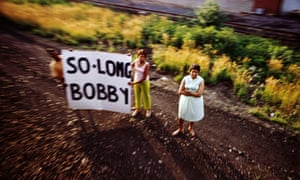 Untitled, from the series The Train: RFK's Last Journey, 1968, by Paul Fusco