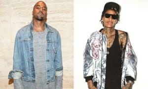 Kanye West Wiz Khalifa Twitter Waves