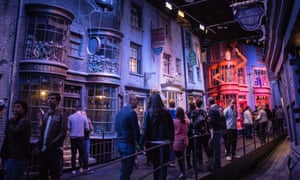 Diagon Alley in the Harry Potter experience