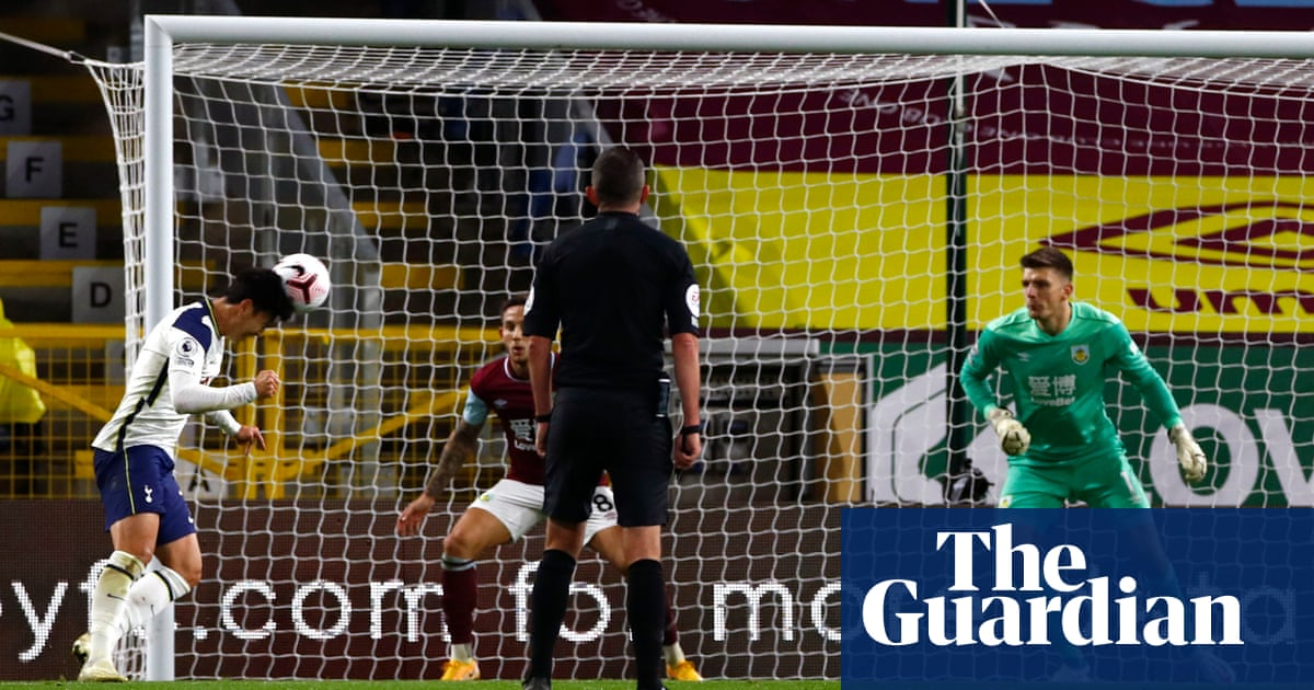 Son Heung-min's header gives Tottenham the points at Burnley