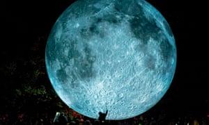 Museum of the Moon artwork by Luke Jerram.