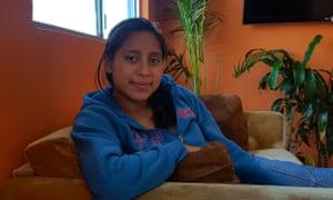 Yulmin De Leon, 17, in the YMCA shelter for unaccompanied minors in Tijuana, Mexico.