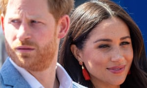 The Duke and Duchess of Sussex during a visit to the Tembisa township in Johannesburg, South Africa