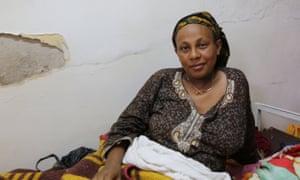 Mestawet Legesse, 30, at Akaki health centre in Addis Ababa, Ethiopia