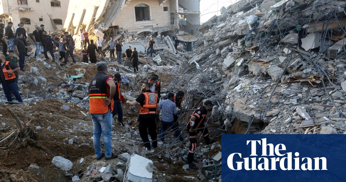 'It was terrifying': Gazans describe the Israeli bombardment of their homes