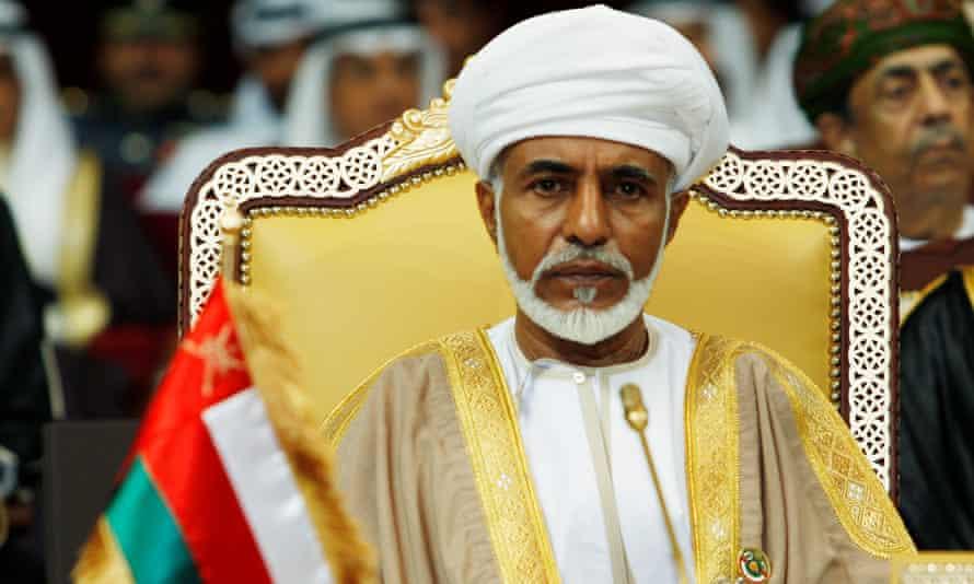 Sultan Qaboos bin Said in Doha, Qatar, in 2007.
