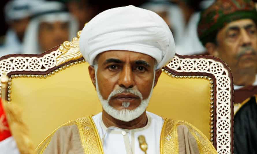 Sultan Qaboos bin Said in a 2007 file photograph.