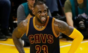 LeBron James has been hampered by a weak supporting cast in the finals