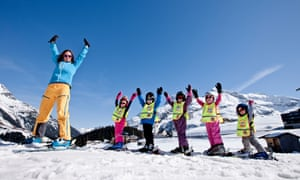 Young learners at Warth Skischule