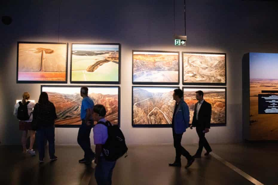 Mining section of Changes gallery, an installation at WA Museum Boola Bardip